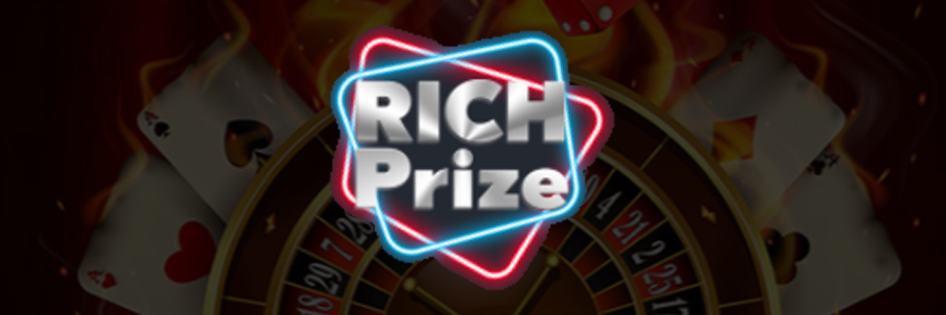 RichPrize Casino: Best Gambling App and Website. Sign up and Login form.